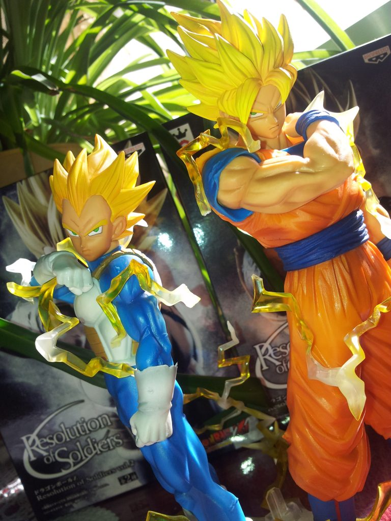 Resolution of soldiers Banpresto Dragon Ball