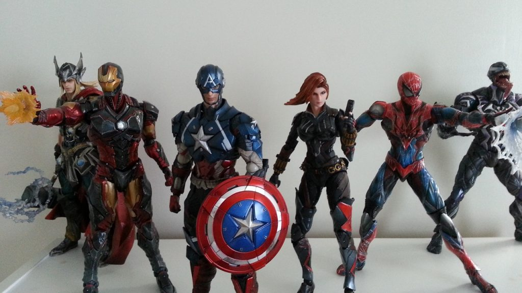 Play Arts Marvel